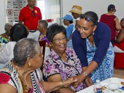 Community & Cultural Affairs on Seniors Craft Exhibition