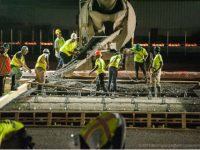 Concrete Poured For First New Airport Taxiway in 15 Years
