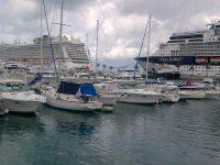 Bermuda's Transportation Resources Will be Stretched to the Limit With Six Cruise Ships