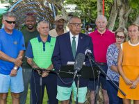 Public Works Minister Opens Children's Play Area at Botanical Gardens