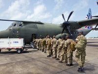 RBR Hurricane Relief Supplies to Follow Local Contingent of 30 Soldiers in Caribbean