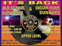 Spinning Wheel Set to Launch Sports Fever Saturdays & Sundays Upstairs