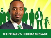 Premier Extends Early Bermuda Real Christmas Message With Other MPs in Support of Independent Media
