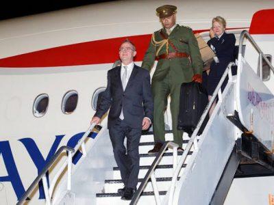 Governor Confirms British Airways Charter Flight