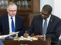PLP MP & Government Whip Michael Weeks Sworn In as Minister of Social Development & Sports