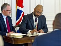 Marc Telemaque Sworn In as Cabinet Secretary