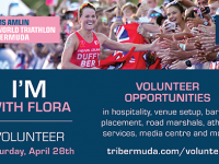 More Than 100 Volunteer Sign Up at Flora Duffy's Alma Matta For Champion Home Triathlon