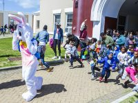 Hundreds of 'Little Ones' Turn Out For Premier's Annual Easter Egg Hunt on Saturday
