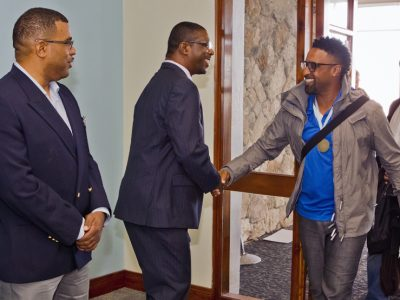 Sports Minister Weeks on Disability & Sports in Bermuda