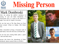 Police Disseminate Flyer Amid Mounting Concern For The Wellbeing of Missing Teen