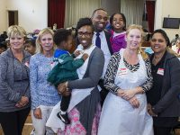 Premier Burt & Family 'Lend a Helping Hand' With MP DeSilva For Grateful Bread Programme