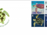 New Stamp Series Commemorating 50th Anniversary of the Bermuda Turtle Project