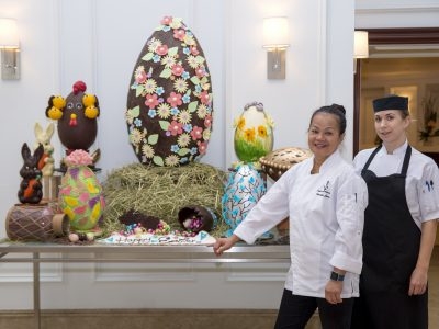 Easter Holiday Eye Candy Treat Still on Display at Hamilton Princess & Beach Club