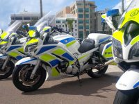 Female Visitor Rushed to Hospital After Hit by Police Officer on Motorcycle