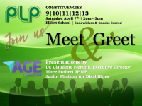 Issues Affecting Seniors & Disabled Will Be The Focus of Next PLP Meet & Greet