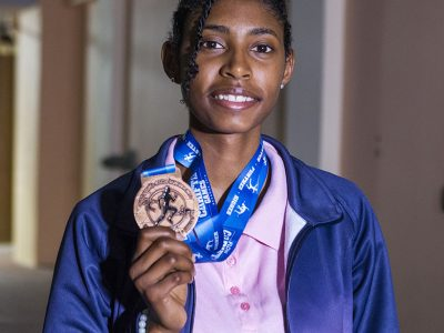 CARIFTA Bronze Medalist Sakari Famous & Jesse Washington to Lead Triathlon Flag Bearers