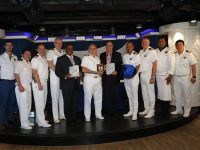 Minister & Delegation Commemorate Cruise Ship Maiden Voyage to Bermuda