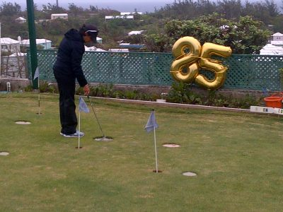 St George's Cup Match Great Eldon Raynor, Sr Hosts 85th Birthday Bash With Golf on the Hill