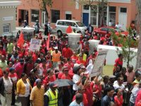 BTUC International Workers' Day March – Wear Red & Bring Placards on Healthcare at Noon