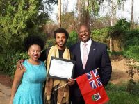 Congratulations Nasir Simmons – Keep Going & Well Done Mom & Dad