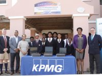 KPMG in Bermuda Supports Dellwood Middle School With IT & Laptop Donation