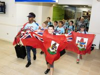 Sports Minister Greets Bermuda Youth Teams Return From International Rugby Festival