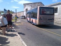 Bus Service Changes In The Royal Naval Dockyard  With Turnaround at Clock Tower Mall