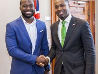 Premier Meets With Sport Tourism Ambassador Mustafa Ingham