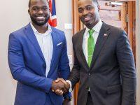 Premier Meets With Sport Tourism Ambassador Mustafa Ingham