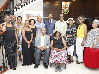 Premier Welcomes Officials From St Kitts & Nevis