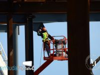 Construction work continues at existing terminal at LF Wade International Airport