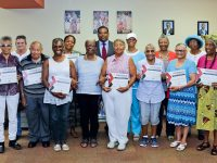 Twelve Participants Awarded Certificates of Achievement in Seniors' Writing Workshop