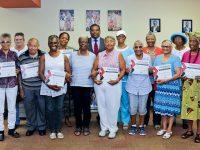 Twelve Participants Awarded Certificates of Achievement in Seniors' Writing Workshop