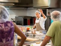Executive Chef Holds Monthly Cooking Classes at Meals on Wheels