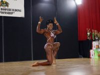 Bermuda Police Officers Guest Pose in Bodybuilding Competition in St Lucia