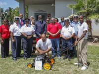 Lawnmowers Presented For Inmate Community Service & Vocational Programmes