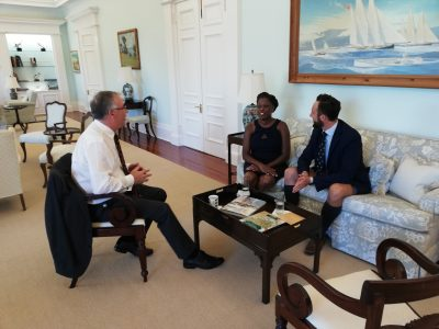 Bermudian Chevening Scholars Celebrated at Government House