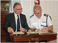New Commissioner of Police Sworn-In at Government House on Friday
