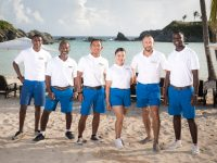 Hamilton Princess & Beach Club Staff Model New TABS Uniforms