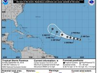 Tropical Storm Florence Not a Threat to Bermuda