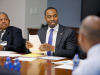 Bermuda Financial Policy Council Meets With Past Governor of Central Bank of Barbados