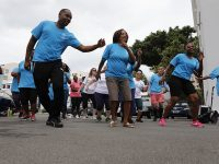 Premier & Health Minister Get Their 'Move More Bermuda' Groove On For Fitness