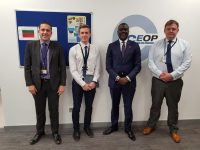 Minister Caines Meets With UK National Crime Agency