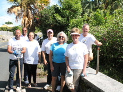 US Consulate Participates in Island Clean Up Initiative