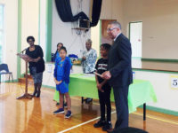 Harrington Sound Primary School Hosts Special Appreciation Assembly For Workmen & Minister