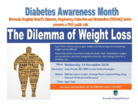 November is Diabetes & Chronic Lung Disease Awareness Month