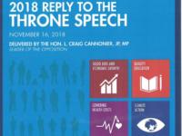 OBA Throne Speech Reply: Time to Boost Bermuda's 'Flatlining Economy'