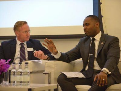 Duperreault Praises Bermuda Innovation at London Fintech Forum