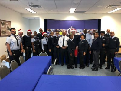 Hamilton Princess Team Provides Christmas Dinner for BPS