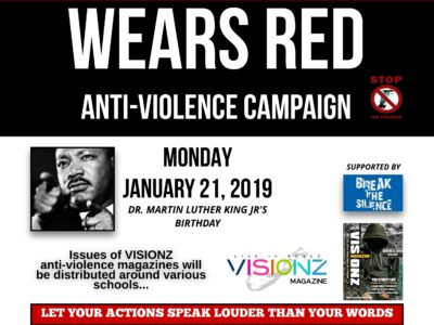 YVP Designates January 21 as Bermuda Wears Red Anti-Violence Campaign Day